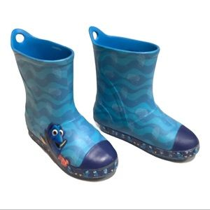 Crocs Big kid Rain boots, blue, Size 13